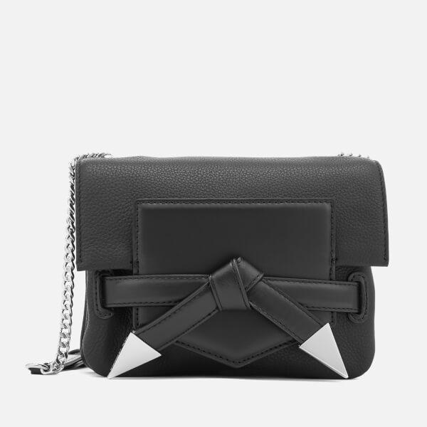 Karl Lagerfeld Women's K/Rocky Bow Cross Body Bag - Black