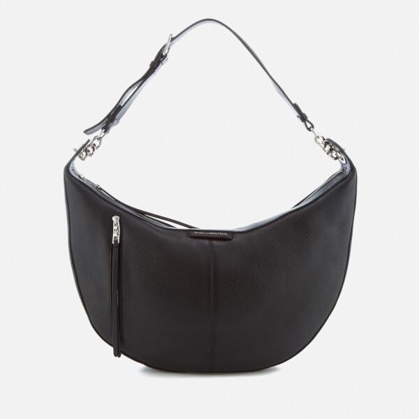 Karl Lagerfeld Women's K/Kool Small Banana Bag - Black