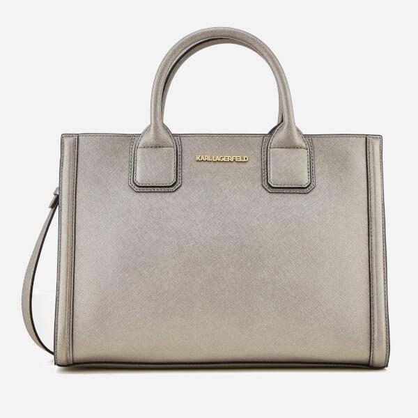 Karl Lagerfeld Women's K/Klassik Tote Bag - Pink Bronze