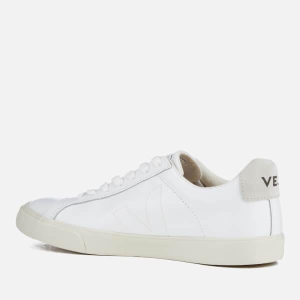 49bcec19481db Veja Men s Esplar Leather Low Top Trainers - Extra White  Image 4