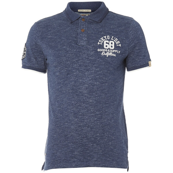 Tokyo Laundry Men's Berling Polo Shirt - Medieval Blue