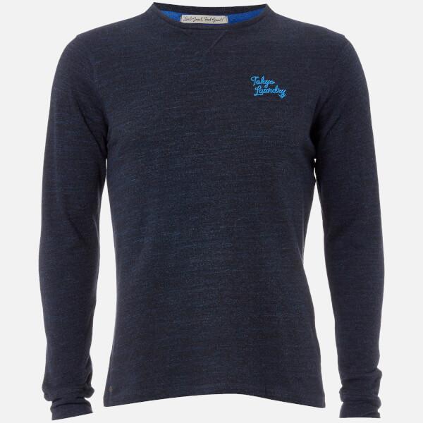 Tokyo Laundry Men's Underwood Long Sleeve Top - Sapphire