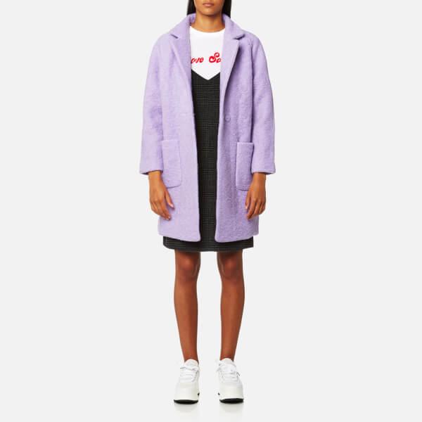 Ganni Women's Fenn Coat - Pastel Lilac
