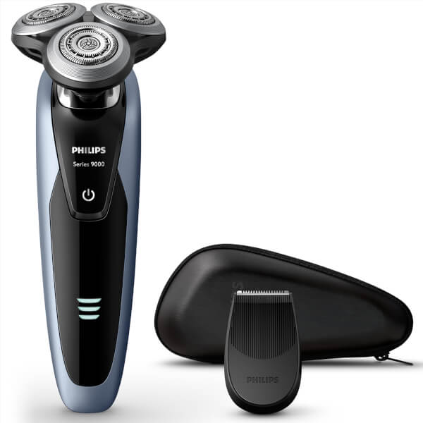 Philips Men's S9211/12 Series 9000 Wet and Dry Electric Shaver with Precision Trimmer