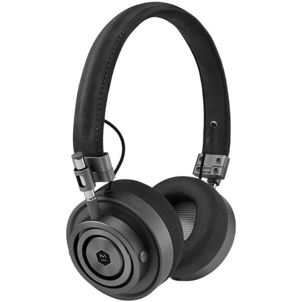 Master and Dynamic MH30 On Ear Headphones - Gunmetal/Black Alcantara®
