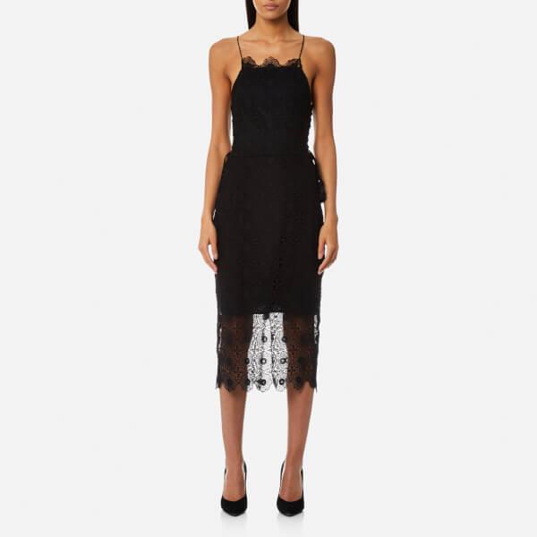 Bec & Bridge Women's Daisy Chain Midi Dress - Black