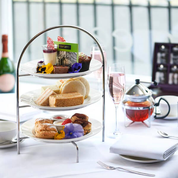 32% Off Chocolate Afternoon Tea for Two at Hilton London Green Park Hotel