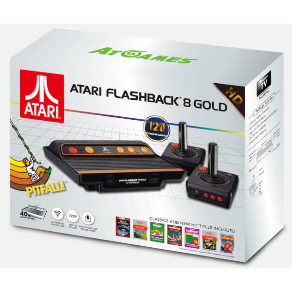 ATARI FlashBack 8 Gold HD With Wireless Controllers