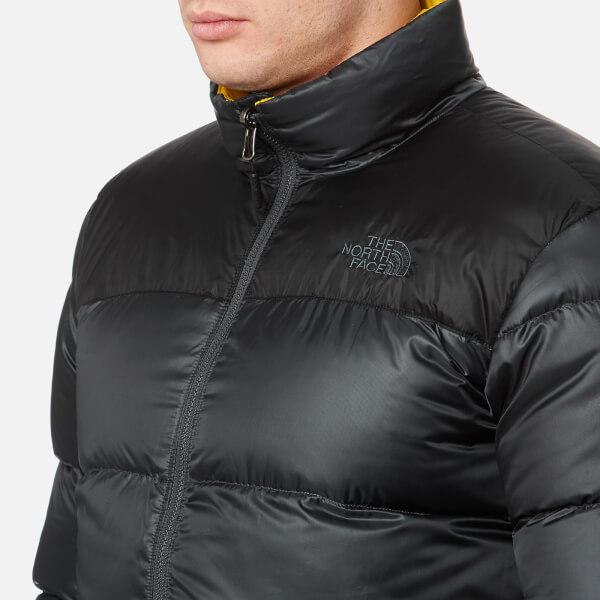 The North Face Men s Nuptse III Jacket - Asphalt Grey Clothing ... 4584c0972