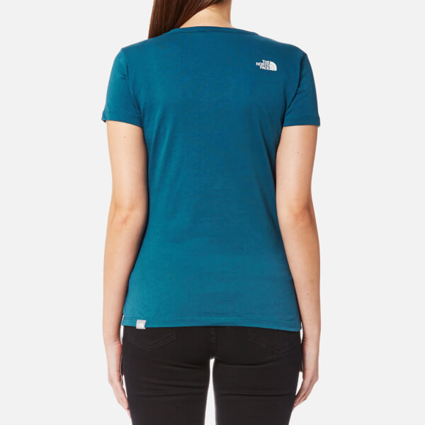 f25b86cfe57c The North Face Women s Short Sleeve Simple Dome T-Shirt - Prussian ...