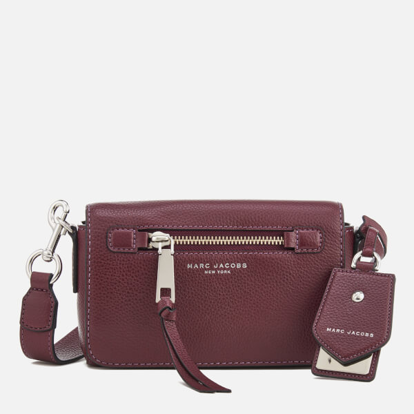 55b50c78f506 Marc Jacobs Women s Recruit Cross Body Bag - Blackberry  Image 1