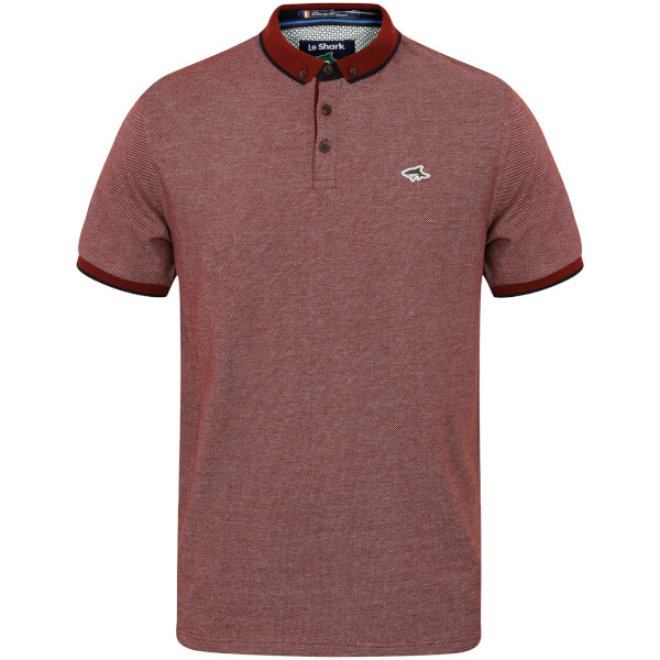 Le Shark Men's Ranger Jacquard Polo Shirt - Red
