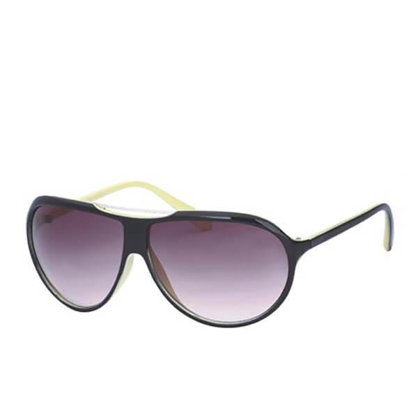 Men's Wrap Sunglasses - Black