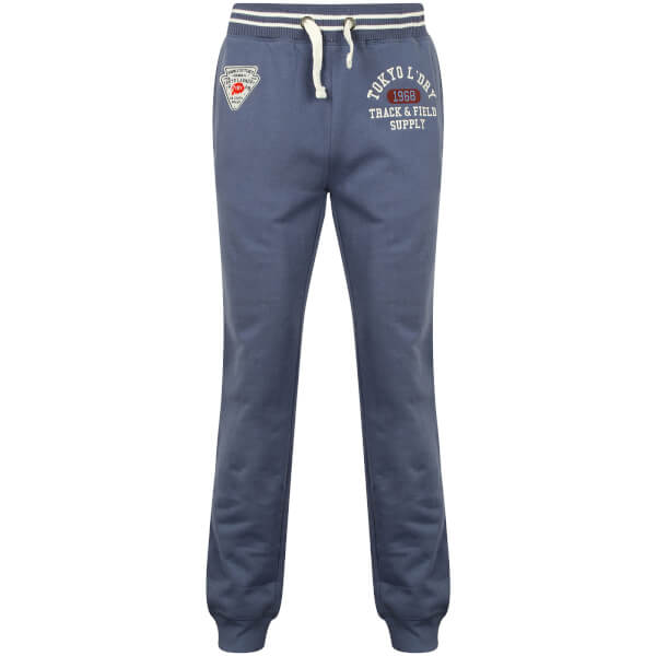 Tokyo Laundry Men's Red Lake Falls Cuffed Sweatpants - Vintage Indigo