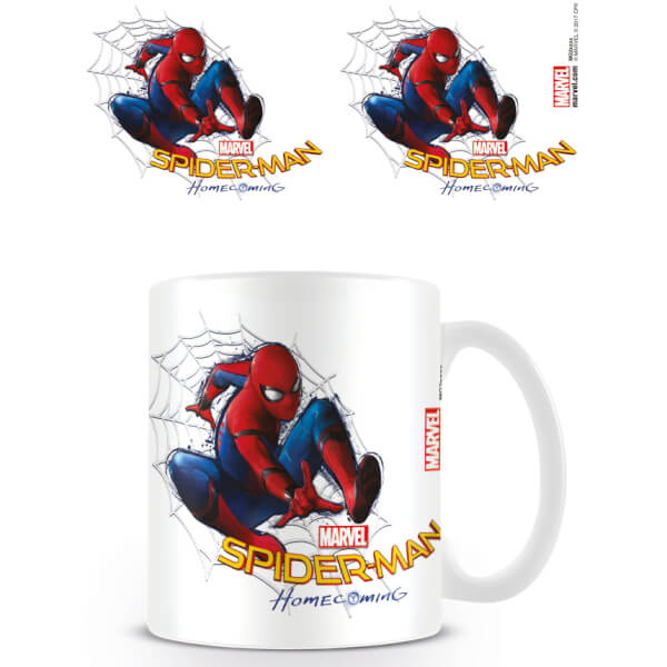 Spider-Man Homecoming Coffee Mug (Web)