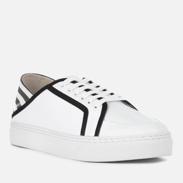SENSO Women's Avery II Leather Cupsole Trainers - Ebony/ Stripe - UK 3