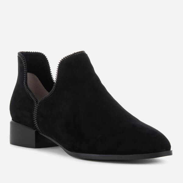 SENSO Women's Bailey VIII Suede Ankle Boots - Ebony/ Zip - UK 5 8HR5HHBoNH