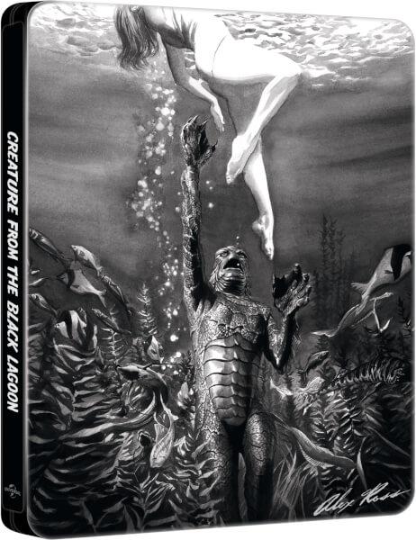 L'Étrange Créature du Lac Noir : Collection Alex Ross - Steelbook Exclusif pour Zavvi