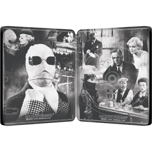 The Invisible Man Alex Ross Collection Zavvi Exclusive