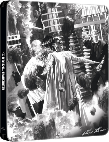 Bride of Frankenstein: Alex Ross Collection - Zavvi Exclusive Steelbook