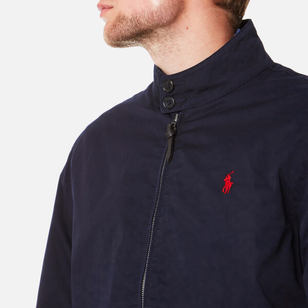b6ab9f2154f166 Polo Ralph Lauren Men s Barracuda Lined Jacket - College Navy - Free ...