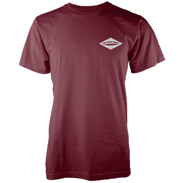 Native Shore Men's Core Board T-Shirt - Burgundy