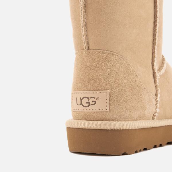 UGG Women's Classic Short II Sheepskin Boots - Sand: Image 6