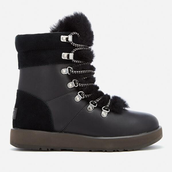 UGG Viki Waterproof Black, Schuhe, Stiefel & Boots, Hohe Boots, Schwarz, Female, 36