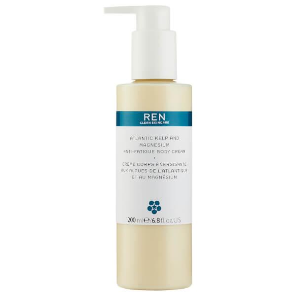 REN Skincare Atlantic Kelp and Magnesium Anti-Fatigue Body Cream 200ml