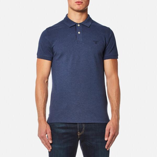 GANT Men's Contrast Collar Polo Shirt - Navy