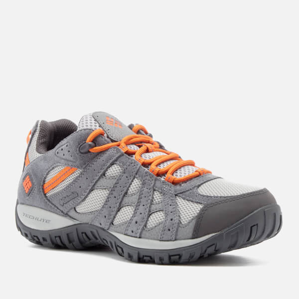 Columbia Men's Redmond Waterproof Walking Shoes - Steam/Heatwave: Image 2