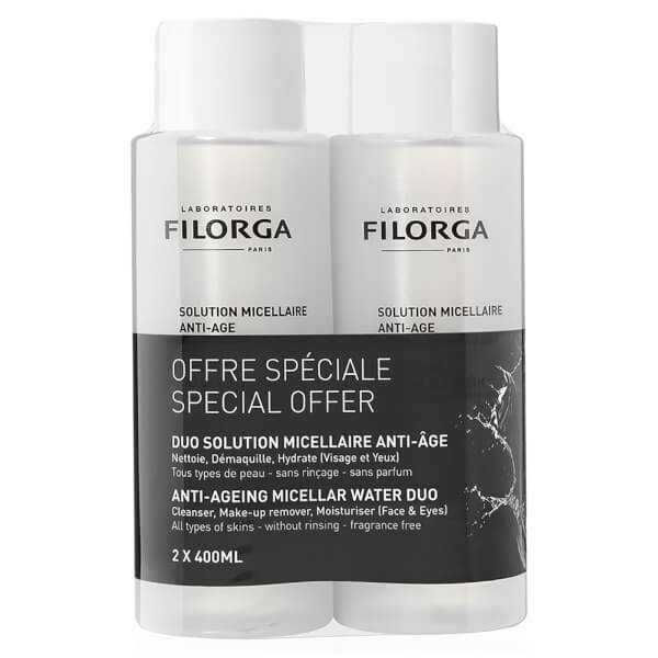 Filorga Duo Micellar Water 800ml (Worth £40)