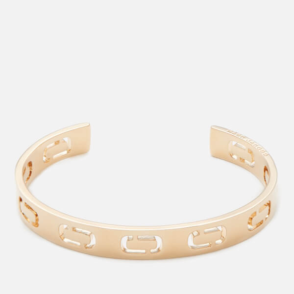 Marc Jacobs Women's Icon Cuff Bracelet - Gold
