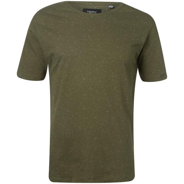 Troy Men's Jamie Nep Yarn T-Shirt - Forest Night