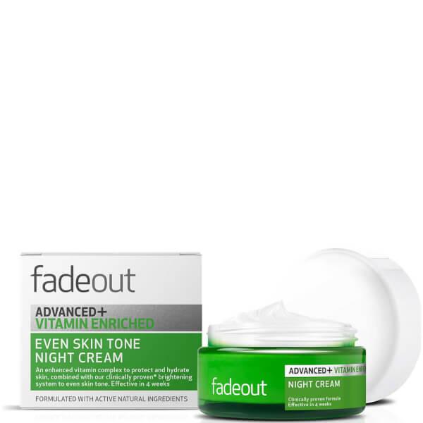 Crema de noche enriquecida ADVANCED + Vitamina Even Skin Tone de Fade Out