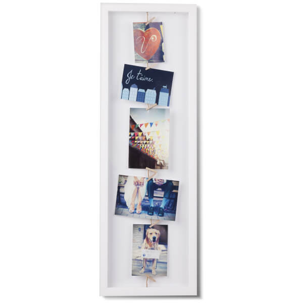 Umbra Clothesline Photo Display Frame - White