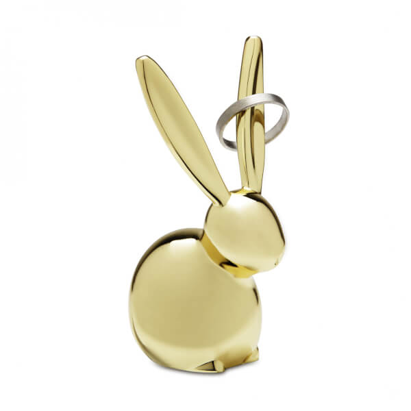 Umbra Zoola Bunny Ring Holder - Brass