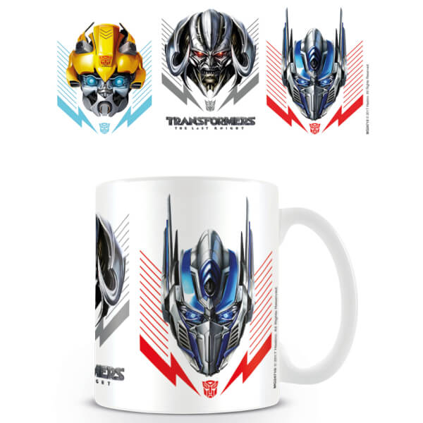 Transformers The Last Knight (Helmets) Mug