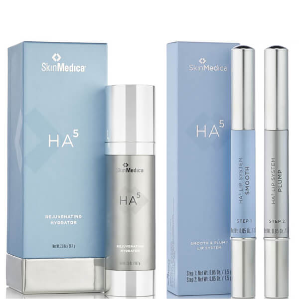SkinMedica HA5 Rejuvenating Hydrator and HA5 Smooth and Plump Lip System