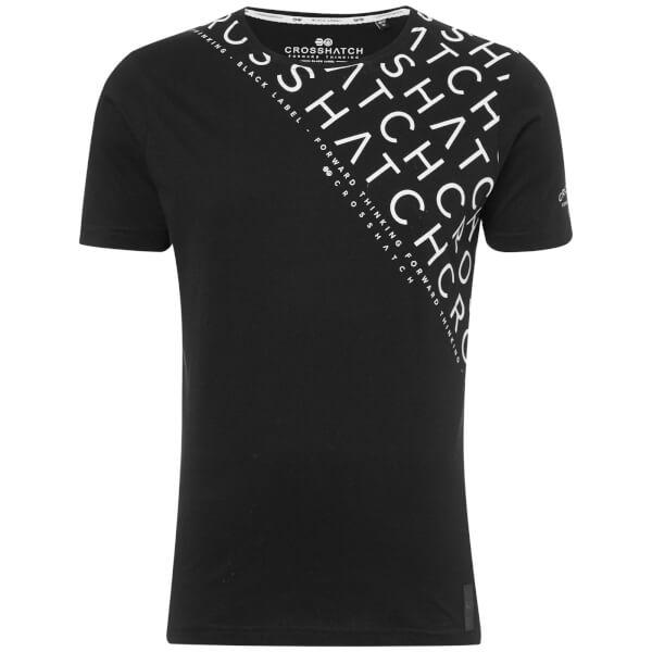 Crosshatch Men's Leeroy T-Shirt - Black