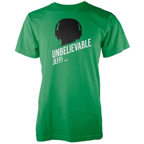 T-Shirt Homme Unbelievable Jeff - Vert