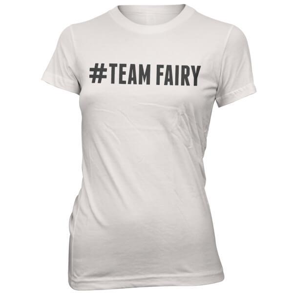 Hashtag Team Fairy Women's White T-Shirt