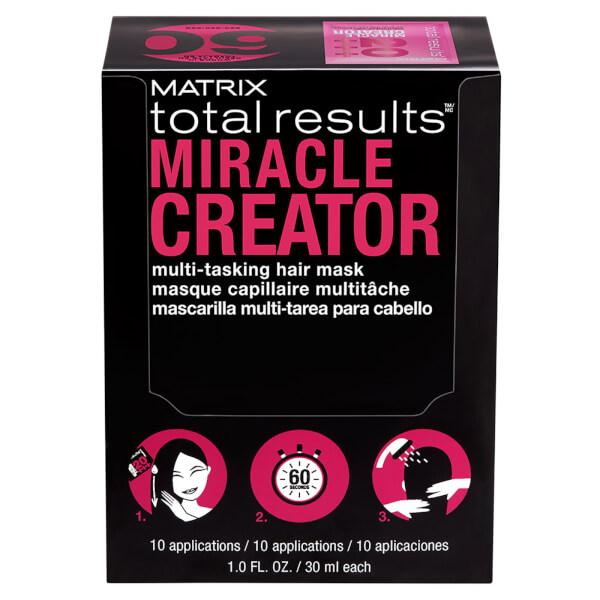 Matrix Total Results Miracle Creator Multi-Tasking Hair Mask 1 oz (Box of 10)
