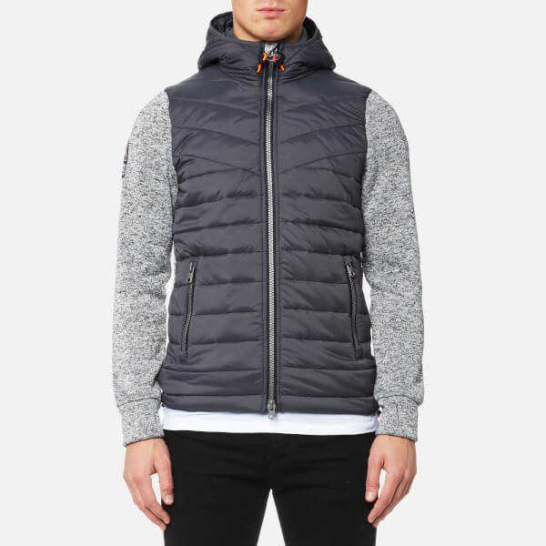 Superdry Men's Storm Hybrid Jacket - Grey Heather