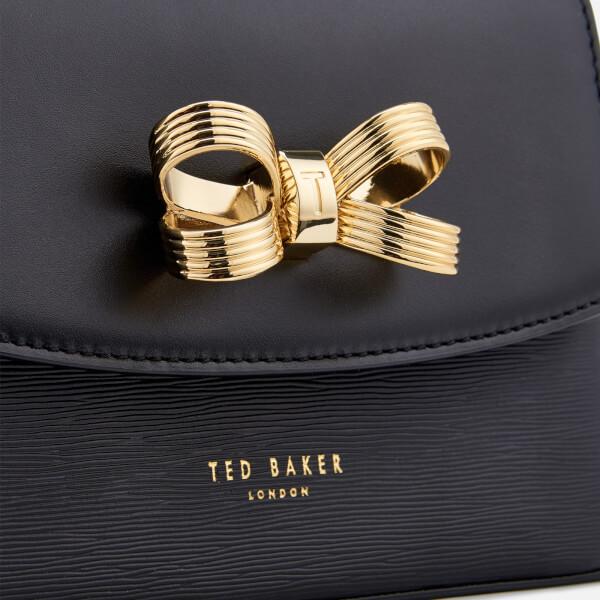 f56728a8ff647 Ted Baker Women s Leorr Looped Bow Mini Cross Body Bag - Black  Image 4