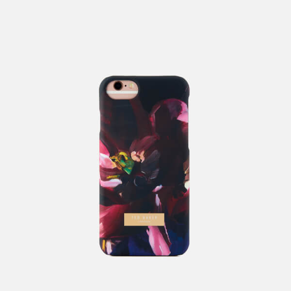 f258b0ca Ted Baker Women's Loliva Impressionist Bloom iPhone Clip Case - Black:  Image 1