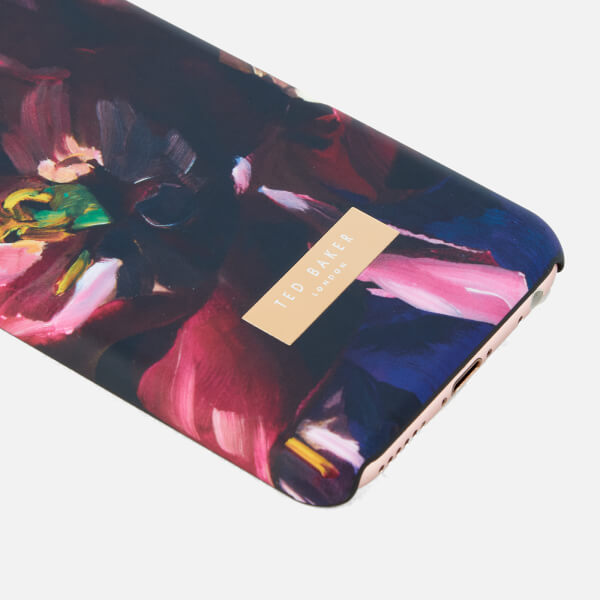 e1a1a69b803d8d Ted Baker Women s Loliva Impressionist Bloom iPhone Clip Case - Black   Image 2