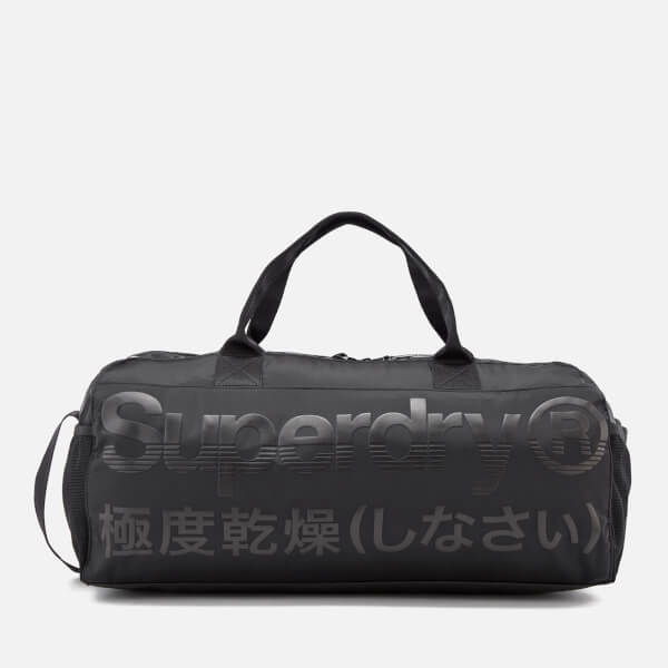 Superdry Men's Trackmaster Barrel Bag - Black