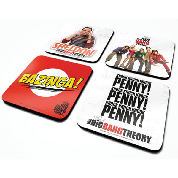 The Big Bang Theory Coaster Set