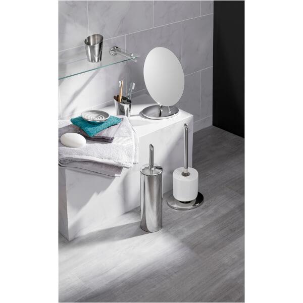 Robert Welch Oblique Floor Standing Toilet Roll Holder Image 2